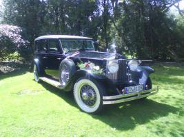 80 Jahre alter Rolls-Royce Phantom I Oldtimer mit Chauffeur für Hochzeiten zu vermieten.