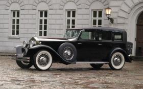 Foto 4 80 Jahre alter Rolls-Royce Phantom I Oldtimer mit Chauffeur für Hochzeiten zu vermieten.