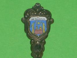 Foto 2 800 Silber Andenkenlöffel mit Wappen