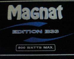 Foto 2 800 watt  bass box von magnat mit 1 lautsprecher