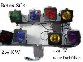 8x Par 56 Scheinwerfer inkl. NEUE Leuchtmittel + STEURUNGEN!