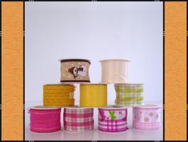9 x Geschenkbänder, Schleifenbänder