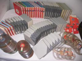 Foto 3 90 Tonbänder + Tonbandgerät