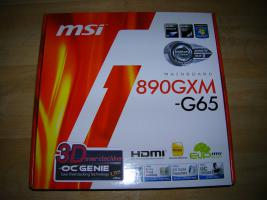 Foto 2 μATX AM3-Board MSI 890GXM-G65