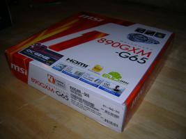 Foto 3 μATX AM3-Board MSI 890GXM-G65