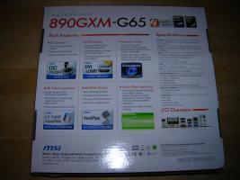 Foto 4 μATX AM3-Board MSI 890GXM-G65