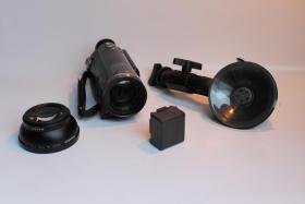 ●●● FULL HD CAMCORDER SD707 viel Zubehör -  wie neu ► 50 fps ◄► LEICA Objektiv ◄