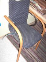 ♥ Vier Hülsta Stühle gepolstert Buche Massiv Wie neu! ♥