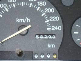 Foto 4 9,00 Euro RARITÄT ESCORT-FORD  TACHO Original,58000 KM SEHR GUTER ZUSTAND 92-98