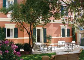 A small, charming hotel on the island of Corfu/Griechenland