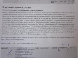 Foto 4 ABB Brandmelderzentrale BZK20ER - NEUWERTIG