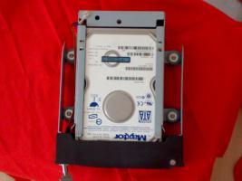 --ACHTUNG-- Laufwerksschubfach für SATA Festplatten+300GB SATA