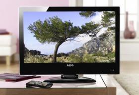 AEG LCD 2401 Fernseher 24''/61 cm, DVB-T FULL-HD, schwarz, NEU*OVP