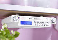 AEG Stereo-Küchenradio mit CD, weiß, NEU*OVP!