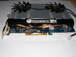 AGP Sapphire ATI Radeon HD 3850 mit Accelero Kühler
