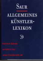 Akl Saur, biete 15 neue Bände an , das Stück für 55,00€ Troedlerwilli