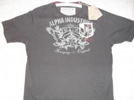 ALPHA INDUSTRIES T-SHIRT ''1T'' (NEU!!)