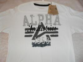 ALPHA INDUSTRIES T-SHIRT ''BIG A PAINT T'' (NEU!!)