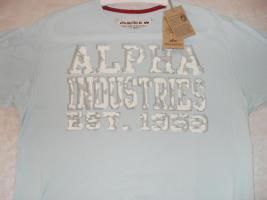 ALPHA INDUSTRIES T-SHIRT ''FLAKY T'' (NEU!!)