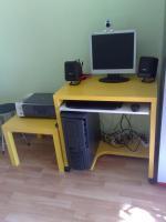AMD Athlon 64 3000 inkl. Flachbildschirm, webcam, funktastatur/maus