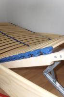 Foto 3 ANGEBOT: Massivholz-Bett + Lattenrost + Kaltschaummatratze