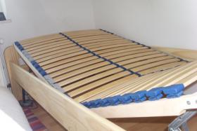 Foto 4 ANGEBOT: Massivholz-Bett + Lattenrost + Kaltschaummatratze
