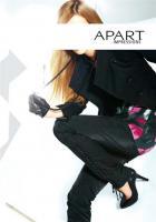 Foto 2 APART - Glitzer-Jeans mit Schnürung schwarz Gr. 68 (34) - OVP - NEU