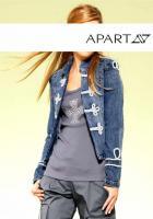 APART - Jeansjacke mit Stickerei blau Gr. 36 - OVP - NEU