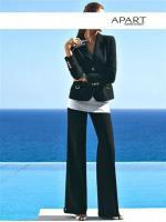 APART - Luxus-Hosenanzug in schwarz Gr. 18 (36) - OVP - NEU