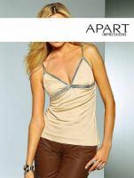 APART - Top beige-silber Gr. 38 - OVP - NEU