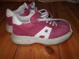 ART Schuhe Größe 38 Bordeauxrot