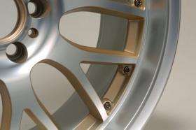 Foto 2 ASA AR1 racegold, schwarz-glanz frontpoliert, silber-frontpoliert