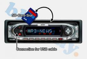 AUTO RADIO-ELTA7538-CD-SD  MP3