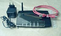 AVM Fritzbox SL Wlan Router Schwarz