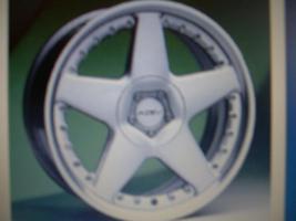AZEV-Alufelgen 8 1/2  J 18 H2 für Audi /VW usw.