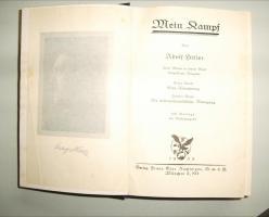 Foto 2 A. Hitler ''Mein Kampf'' original von 1933