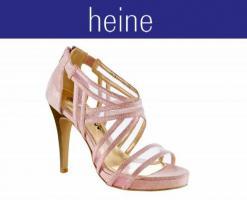 Abend-Sandalette rosa von CHILLANY - Größe 35 - OVP & NEU