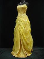 Foto 3 Abendkleid Angebot von Modekarusell in Gold Gr.38 einmalig !!