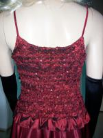 Foto 6 Abendkleid mit Rautenstickereien - Neu -  Grosse:38 - 42