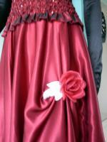 Foto 7 Abendkleid mit Rautenstickereien - Neu -  Grosse:38 - 42