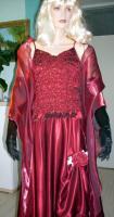Foto 11 Abendkleid mit Rautenstickereien - Neu -  Grosse:38 - 42