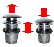 Ablaufgarnitur mit Klickablauf rund (B03) - OVP - NEU