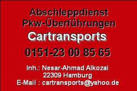Foto 2 Abschleppdienst supergünstig ab 30€ einfach anrufen Hamburg u.s.w