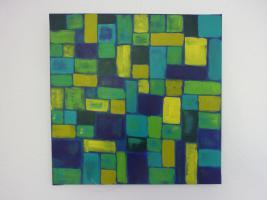 Foto 2 Abstrakte Gemälde in Acryl