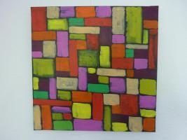 Foto 3 Abstrakte Gemälde in Acryl