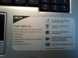 Foto 3 Acer Aspire 3004WLMi 15,4 Zoll Notebook