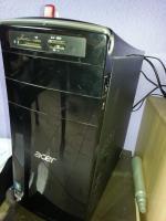 Foto 3 Acer Aspire M3410 Computer + Fujitsu Flachbildschirm (51cm)