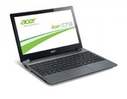 Acer Chromebook C710 grau Notebook Google Chrome OS