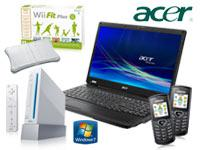 Acer Extensa 5235-902G16N Notebook+NINTENDO Wii Sports Pack Spielkonsole mit Vertrag+T-Mobile Relax
