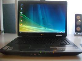 Acer TravelMate 5520G, AMD 2x2.2GHz, 2GB RAM, 250GB Festplatte, Ati Radeon HD2600 1280MB, Gamer
